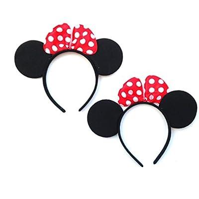 2 pcs disfraz Black Mouse,accesorio de disfraz(HC Enterprise -ds2): Juguetes y juegos