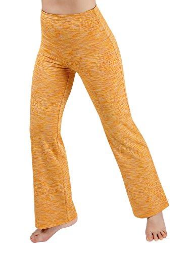 ODODOS Power Flex High Waist Boot Cut Yoga Pants Tummy Control