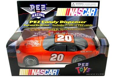 Stewart Race Car - Pez Candy Dispenser Nascar Race Car Orange #20 Tony Stewart