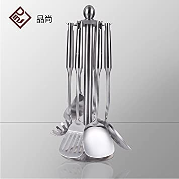304 Edelstahl Küchengeräte, Haushaltsgeräte, sieben Sätze: Amazon.de ...
