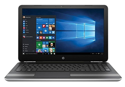 2017 HP Pavilion 15.6-inch FHD 1080P Laptop PC, Intel Dual Core i5 Processor, 8GB RAM, 1TB SATA Hard Drive, Windows 10, DVD-Writer, Backlit keyboard, USB 3.0, Bluetooth, Silver (Pavilion Processor Laptop Notebooks)