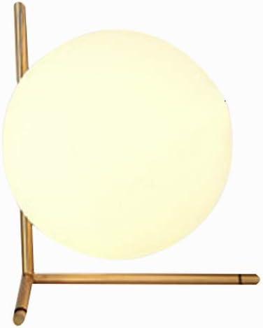 Retro lámpara de Escritorio de Cristal Modernas Pelota de Ping ...