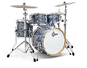 gretsch new renown maple 4 piece groove drum set shell pack silver oyster pearl. Black Bedroom Furniture Sets. Home Design Ideas
