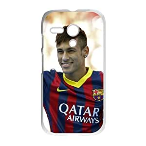 Motorola G Cell Phone Case White Neymar XKZ Cell Phone Case Hard 3D