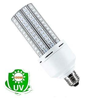 UV Germicidal Lamp, 100W UV Sanitizer Lamp Bulb E26/E27 Led UVC Light Bulb, Suitable for Home,Restaurant,Office, Warehouse, Supermarket