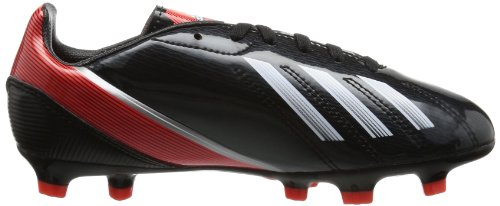 adidas F10 TRX FG J - Zapatos de fútbol de material sintético niño negro - Schwarz (Black 1 / Running White Ftw / Infrared)