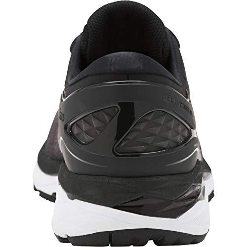 ASICS Mens Gel-Kayano 24 Running Shoe Black/Phantom/White 6.5 Medium US by ASICS (Image #2)