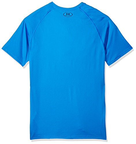 Ua Blu Tech T shirt academy Ss mediterranean Uomo 437 Armour Under Tee 58xOE