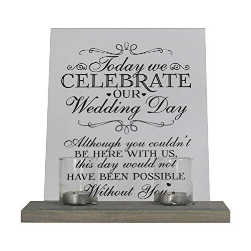 Wedding Memorial Ideas (LifeSong Milestones Loss of Mother, Father, Child, Parents Loved Ones Memorial Sympathy Candle 8