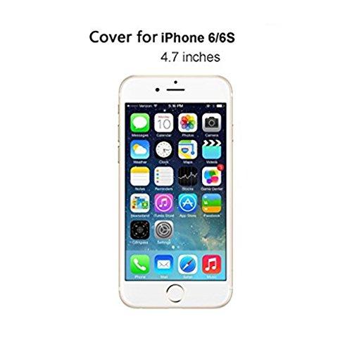 MUTOUREN Apple funda de movil iPhone 6 Plus/6S Plus TPU silicona Case Caso Cover shell Soft cáscara protectora iPhone 6 Plus/6S Plus la contraportada Teléfono resistencia a la caída shell moda Ultra D theme 06