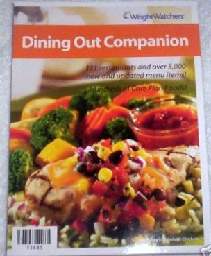 Download Dining Out Companion 2006 Weight Watchers PDF