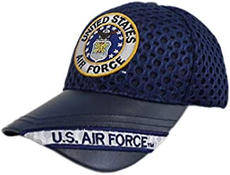 869cee3ad5484 K & S Unique U.S. Air Force Round Logo Mesh Cap