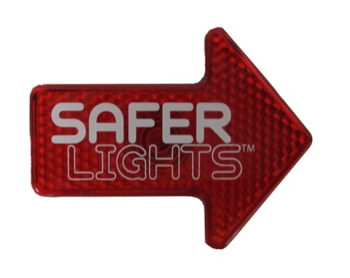iBert Safe T Front Mounted Child Bicycle Seat with Free Safer Light LED Safety Reflector