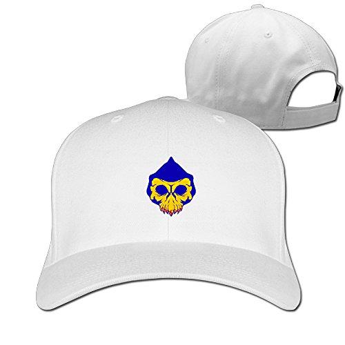 LBLOGITECH Skull Mask Cool Pure Color Baseball Caps (Skull Bride Mask With Hair)
