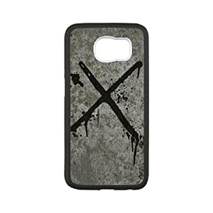 Parson's X Metal Samsung Galaxy S6 Cell Phone Case White&Phone Accessory STC_038707