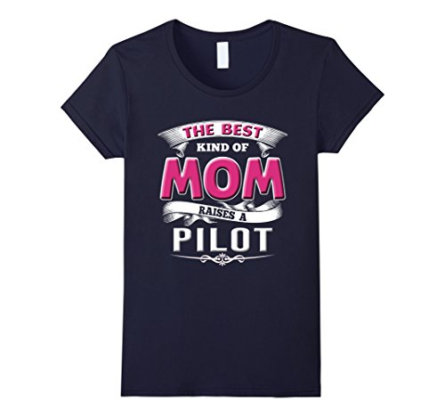 Women's Pilot Shirts Funny Mom Gift Mother's Day Airline ...