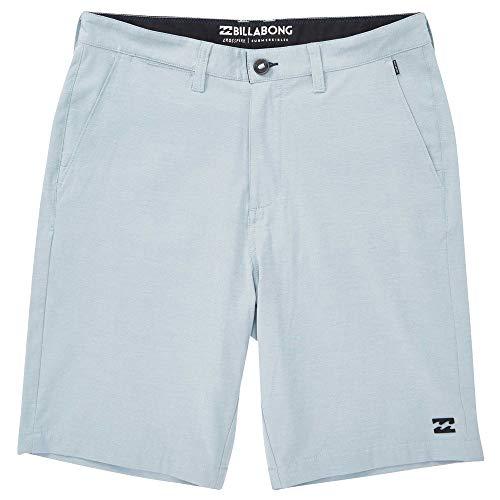 Billabong Men's Cross Fire X Hybrid Shorts Seafoam 28 - Fly Billabong Shorts Zip