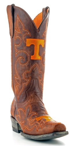 NCAA Tennessee Volunteers Men's Gameday Boots, Brass, 13 D (M) US