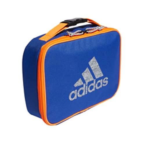 - adidas Foundation Lunch Bag, Collegiate Royal/Solar Orange, One Size