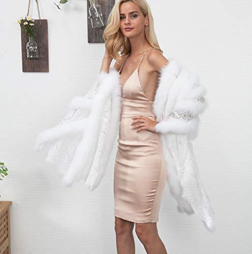 Cardigan Del Tuduz Allentato Pelliccia Donne Addensare Parka Incappucciato 7 Giacca Calda Streetwear Di Delle Soprabito Bianco Casuale Faux Outwear wqxZXHz6X