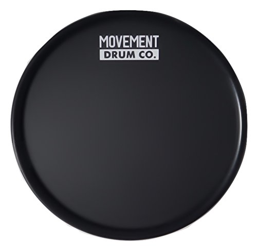 Ultra Portable Practice Pad - 6'' Drum Pad (Black) - Case Included by Movement Drum Co.