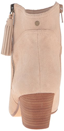 Nine West Womens Hannigan Suede Ankle Bootie Light Taupe