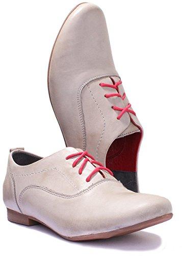 5200 Grey Reece Justin Stringate Scarpe Donna fw6YxT4