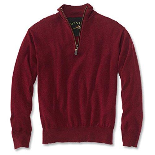 orvis-100-extra-fine-merino-wool-quarter-zipneck-sweater-x-large-wine