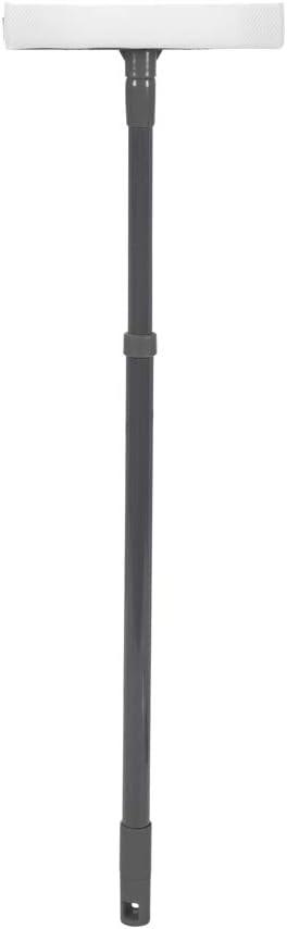 mit Stange leicht Grau//T/ürkis JVL Staubwedel aus Mikrofaser