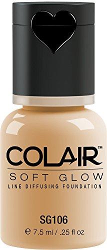Dinair Airbrush Makeup Foundation | Vanilla Sg106 | Soft Glow Colair – 1/4 Oz