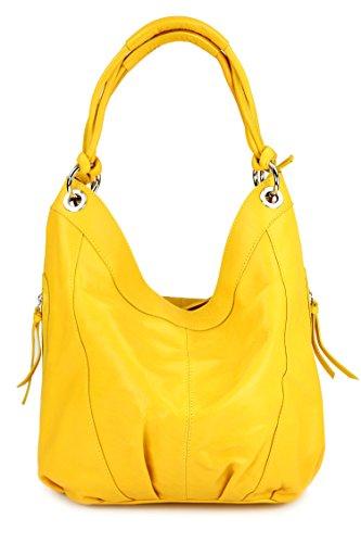 Belli, Borsa shopper donna Yellow