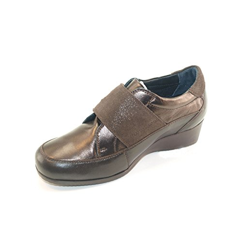 Hergos Et Testa Confortable chaussure Di Marron Élégant Moro H 9000 Ix4B0qnUrI