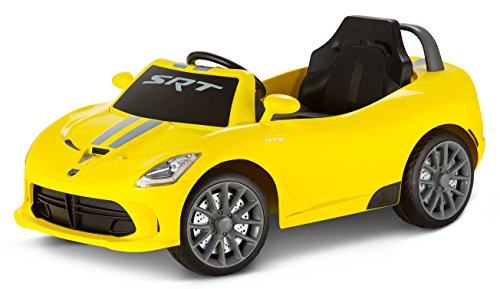 Kid Trax Dodge Viper 6 Volt Electric Ride on, Yellow