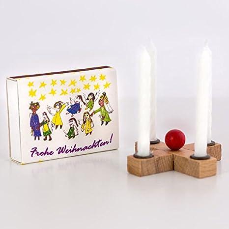 Weihnachten Adventskranz für die Hosentasche Advent