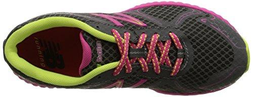 888098070194 - New Balance KJ980 Fresh Foam Running Shoe (Little Kid/Big Kid), Grey/Pink, 4 M US Big Kid carousel main 7