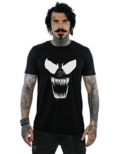 T Marvel Noir shirt Teeth Venom Homme Bare 44OwqPIz