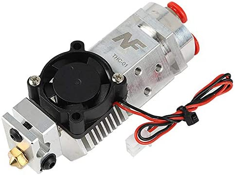 Nrpfell 3D Drucker Teile NF THC-01 Hotend Kit 3 in 1 Out Multi-Color DREI Farben Switching Remote Extruder Hotend Kit f/ür 0,4 Mm 1,75 Mm 12 V