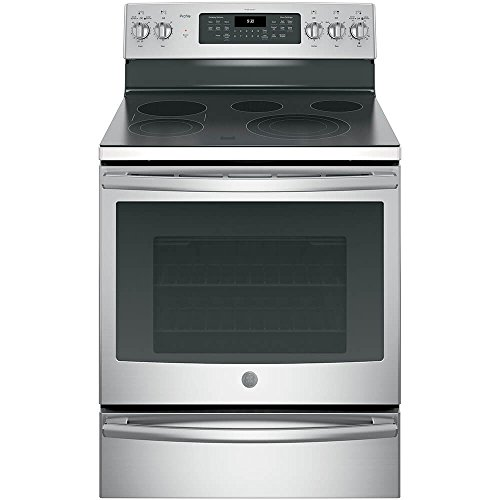 G.E. Profile PB930SLSS Stainless Steel Profile Series 30 Free-Standing Electric Convection Range ()