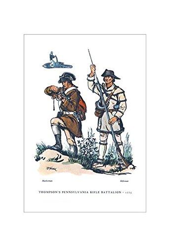(Buyenlarge Thompson's Pennsylvania Rifle Battalion, 1775