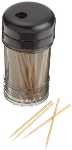 Toothpick Dispenser Plastic (Bonny Bar Toothpicks with Dispenser)