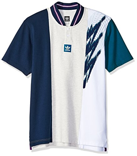 adidas Originals Mens Skateboarding Short Sleeve Tennis Jersey