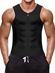 Waist Trainer Vests Weight Loss Shapewear Slim Belt Workout Suit Tips: Firstly by raising your core body temperature with this bodysuit under any clothingfor GYM Ready,Swear,Fat burn and Lose Weight,Reduce belly body care bodybuilding,...