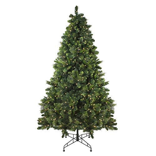 Northlight 7.5' Pre-Lit Sequoia Mixed Pine Artificial Christmas Tree -  Clear Lights - Amazon.com: Northlight 7.5' Pre-Lit Sequoia Mixed Pine Artificial