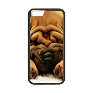"WJHSSB Cover Shell Phone Case Cute Dog For iPhone 6 (4.7"")"