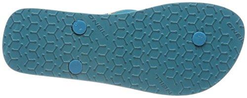 ONeill FW 9010 Schwarz Flops Black Out Solid Zehentrenner Flip Damen rrOqv