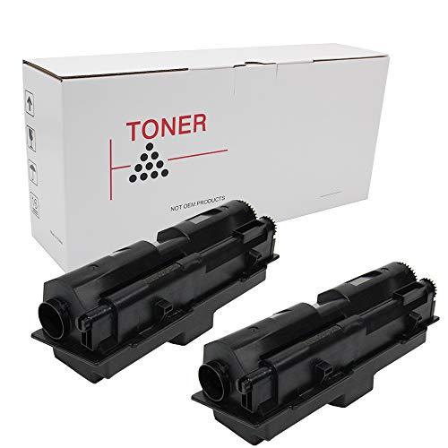 Hehua TK142 Compatible Black Toner Cartridge Kyocera-Mita TK-140 TK-142 TK-144 Use Printer FS 1100, 1100N (2 Pack)