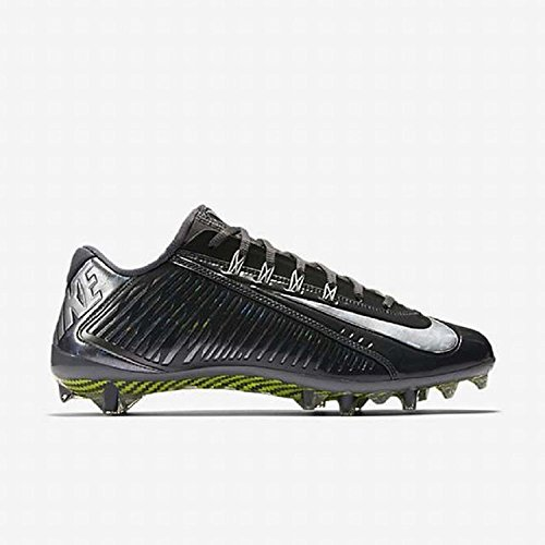 Tacchetti Da Calcio Nike Vapore Carbonio Elite Td Mens Nero / Grigio