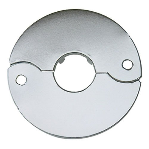 LASCO 03-1553 Chrome Plated Floor and Ceiling Split Flange Fits 1/2-Inch Iron Pipe Or 3/4-Inch Inside Diameter copper