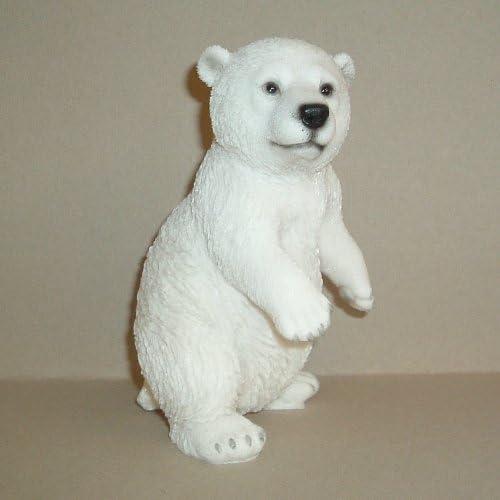 Indoor//Outdoor Home//Garden Ornament XRL Vivid Arts Playful Polar Bear Sitting