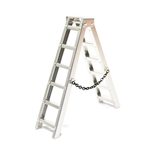 Racers Edge 1/10 Scaler Aluminum Step Ladder (100mm) by Racers Edge